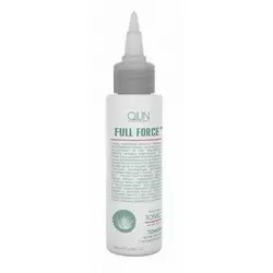 Ollin Professional Full Force Anti-Dandruff Tonic With Aloe Extract - Тоник против перхоти с алоэ, 100 мл.