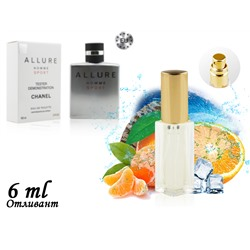 Пробник CHANEL ALLURE HOMME SPORT, Edt, 6 ml (Lux Europe) 215